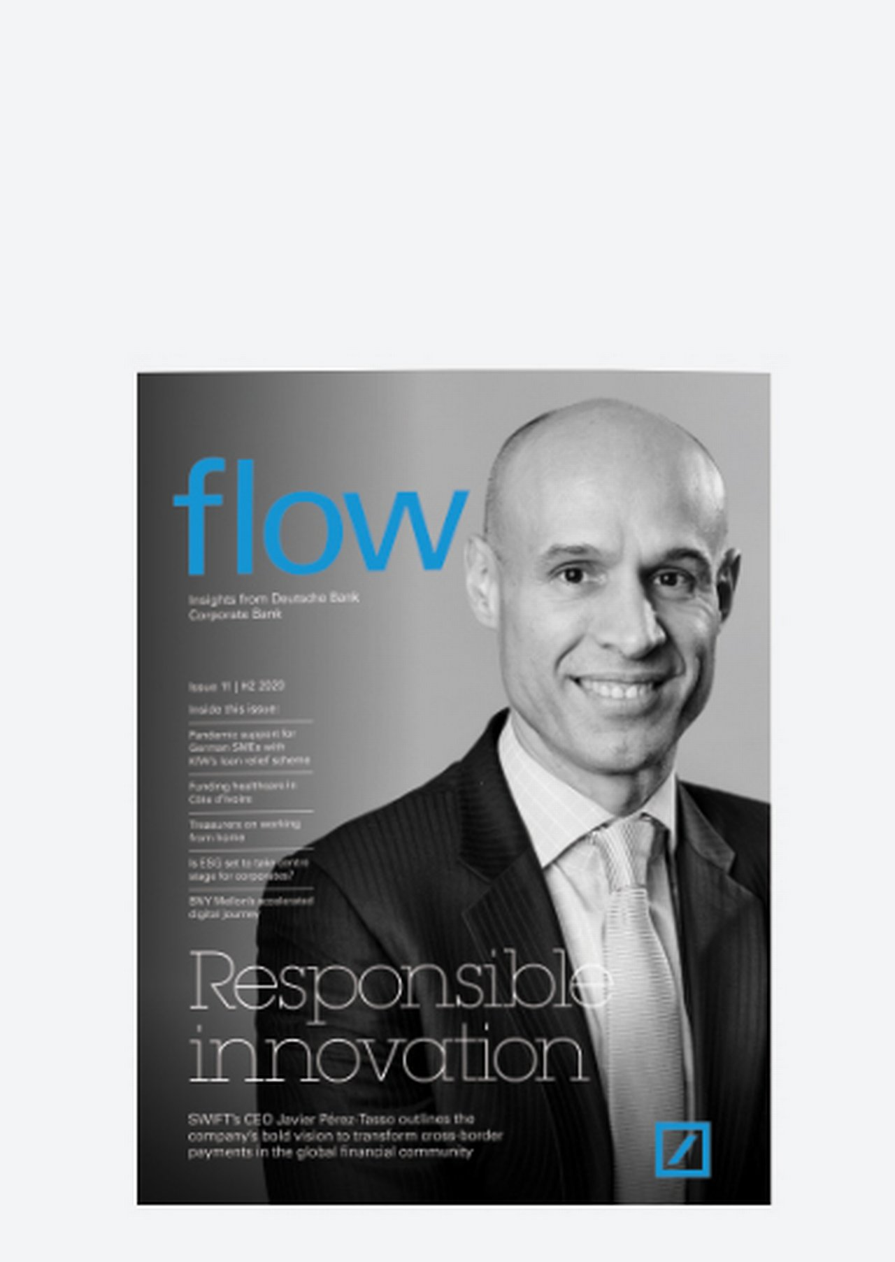 Cover of flow issue 11 – Responsible innovation